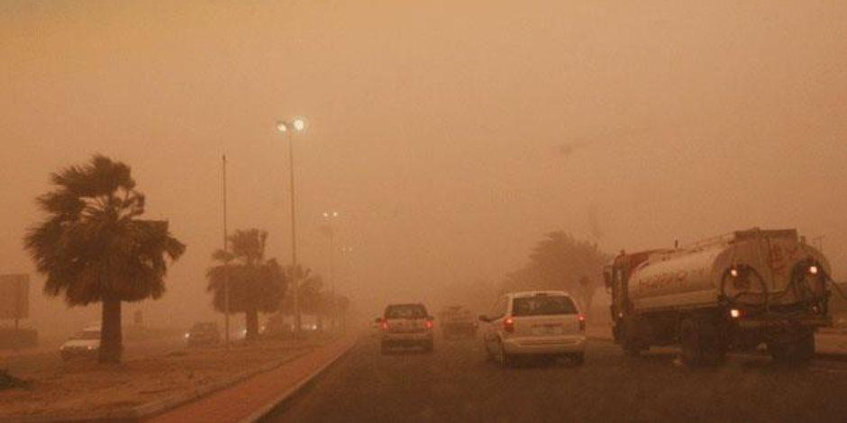 للمرة الثانية.. غلق الطريقين الصحراوي الغربي أسوان أبوسمبل بسبب عاصفة ترابية جديدة