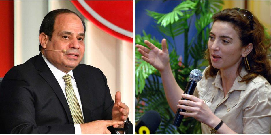 ساندرا نشأت عن حوارها «شعب ورئيس»: كنت عاوزة أقابل المواطن عبد الفتاح السيسى (فيديو)