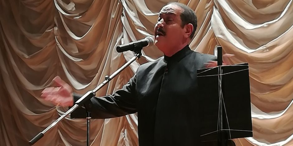 الفنان لطفي بشناق يحيي حفل بنقابة الصحفيين (فيديو وصور)