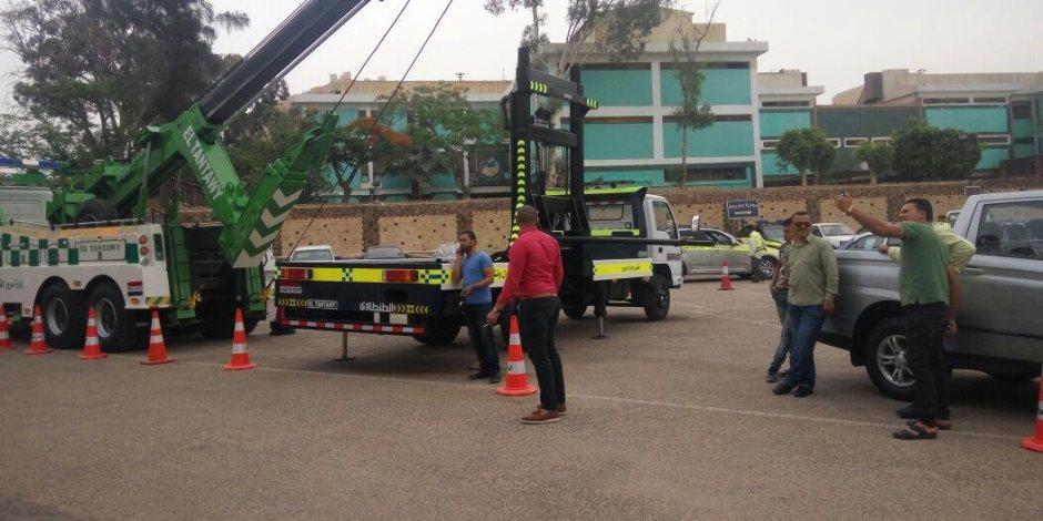 غلق مؤقت لشارع السلام بالجبل الأخضر وكوبري الفنجري الجديد