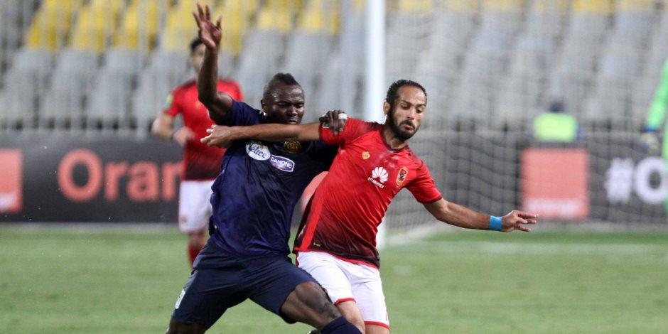 ماذا قال أحمد أيوب للاعبي الأهلي قبل لقاء المصري؟