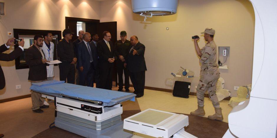 محافظ بني سويف: المستشفى العسكري إضافة هامة للمنظومة الصحية (صور)