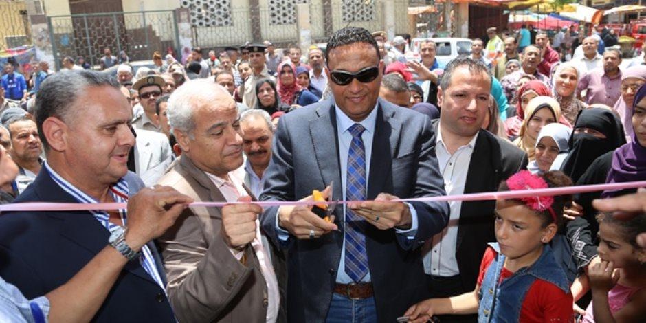 افتتاح معارض «أهلا رمضان» للسلع الغذائية بمركزي أشمون وشبين الكوم