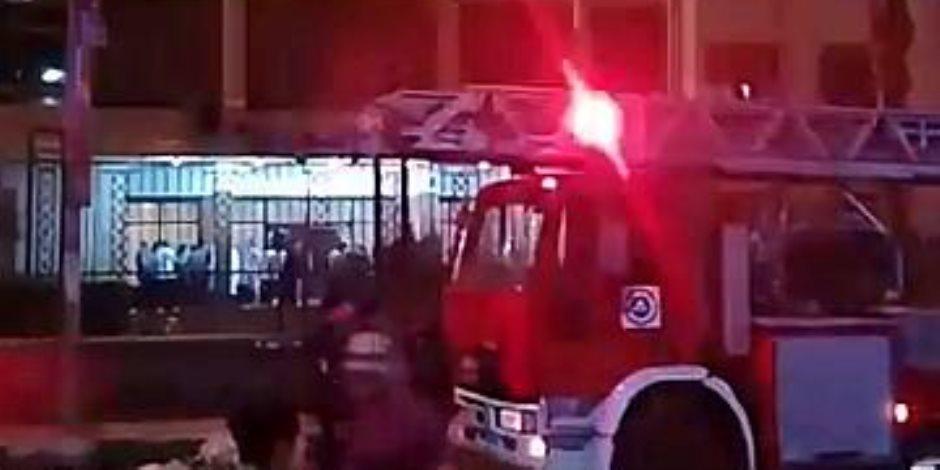 السيطرة على حريق شب بمدرسة في وادي النطرون دون إصابات