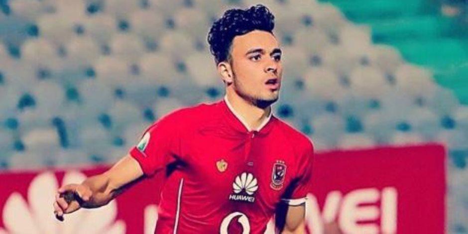 إصابة صلاح محسن بفيروس كورونا.. والأهلى يستبعد اللاعب من مواجهة الاتحاد