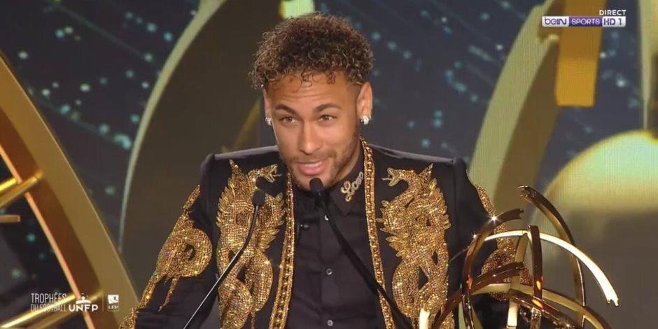 نيمار أفضل لاعب في الدوري الفرنسي هذا الموسم