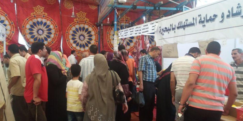معرض «أهلا رمضان» يلقلى رضى المواطنين في البحيرة والأسعار في متناول الجميع (صور)