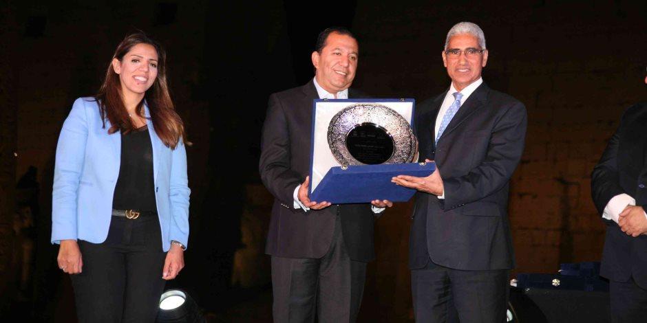 «محمد بدر» ورئيس جامعة جنوب الوادي يشهدان إحتفالية متدربي البرنامج الفندقي بالأقصر