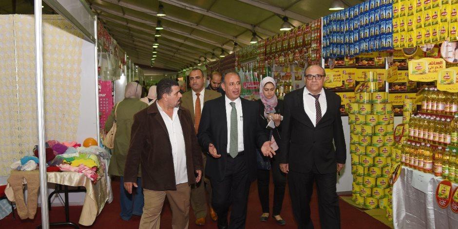 محافظ الإسكندرية: توافر السلع الأساسية بأقل الأسعار فى معرض «أهلا رمضان»