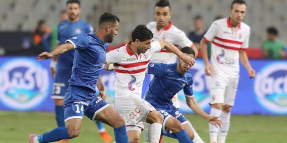 ركلات الترجيح تفصل بين الزمالك وسموحة في نهائي كأس مصر (فيديو)