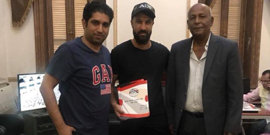عبد الحميد سامي ينضم إلى فريق حرس الحدود في صفقة انتقال حر