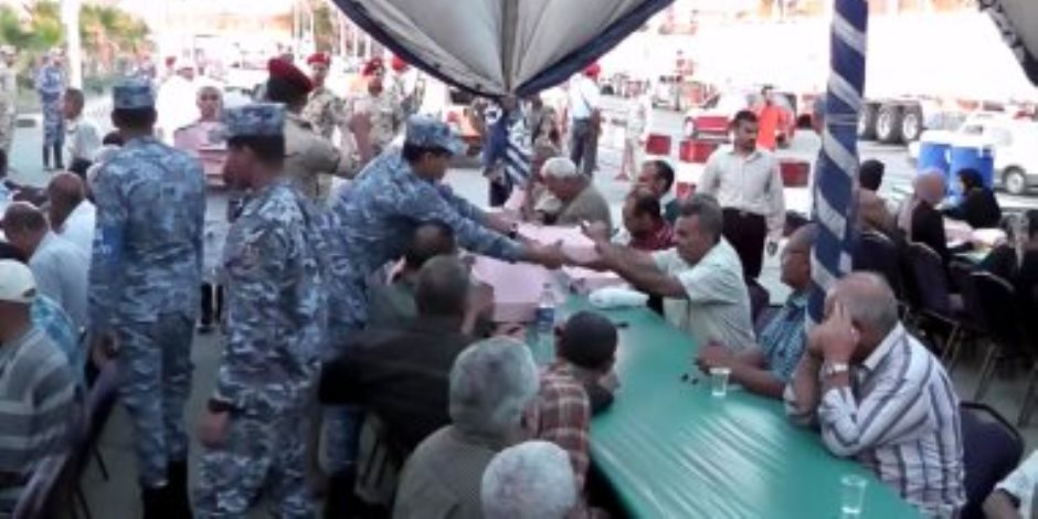 132 مائدة إفطار رمضانية للقوات المسلحة بمحافظات الجمهورية