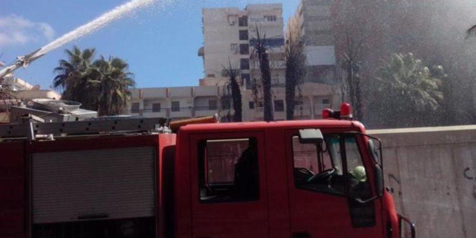 حريق هائل وإخلاء للمرضى.. ماذا يحدث في مستشفى الحسين الجامعي؟