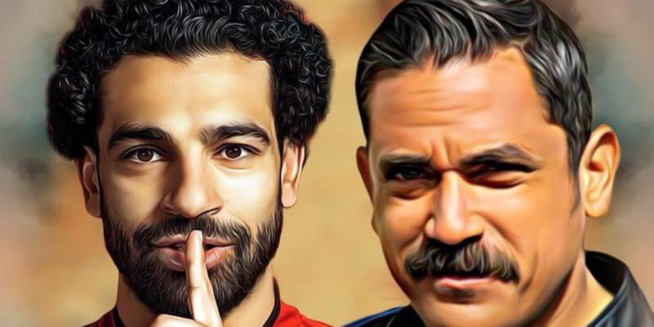كيف اجتمع محمد صلاح و«باشا مصر» قبيل مباراة نهائي أبطال أوروبا؟