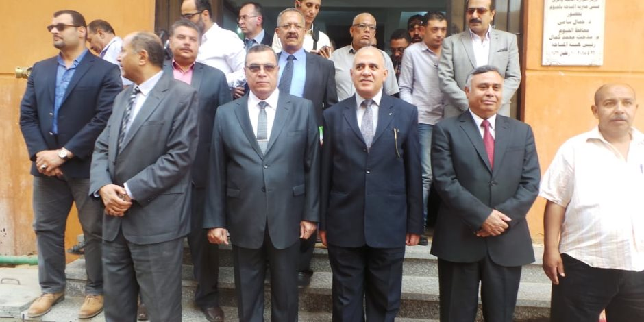 وزير الري ومحافظ الفيوم يفتتحان مديرية المساحة