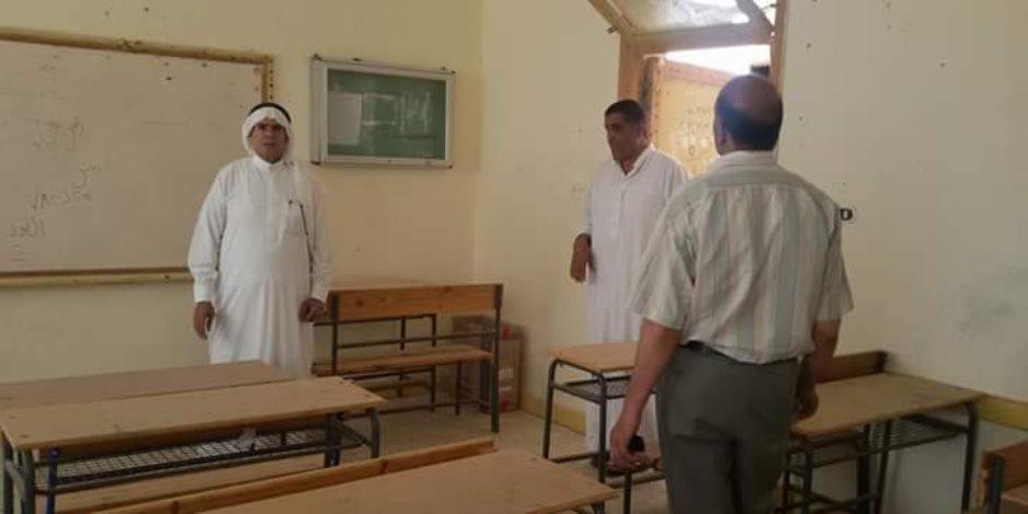 كيف استعدت «تعليم شمال سيناء» لامتحانات الثانوية العامة؟ (صور)