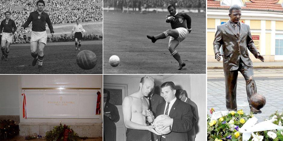 أساطير كأس العالم.. بوشكاش القائد العسكرى الذى نفته المجر ليتوج إمبراطوراً للكرة الأوروبية