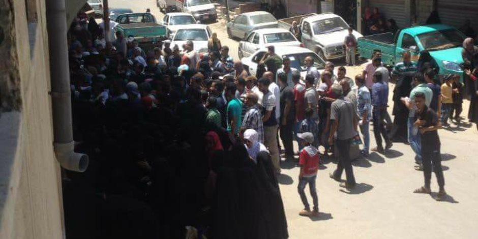 القوات المسلحة تهدي أهالي سيناء 50 ألف كرتونة مواد غذائية (صور)