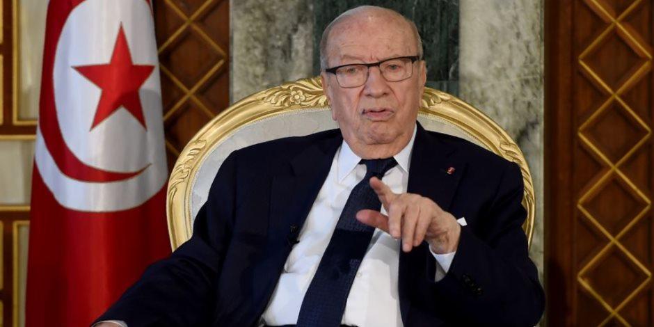 رئيس البرلمان يتوجه إلى مقر مجلس النواب التونسى لعقد جلسة طارئة