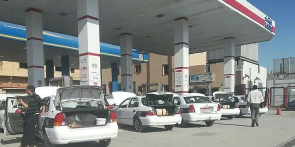 بعد تطهير شمال سيناء من الإرهاب.. فتح محطات الوقود بالعريش وبئر العبد (صور)