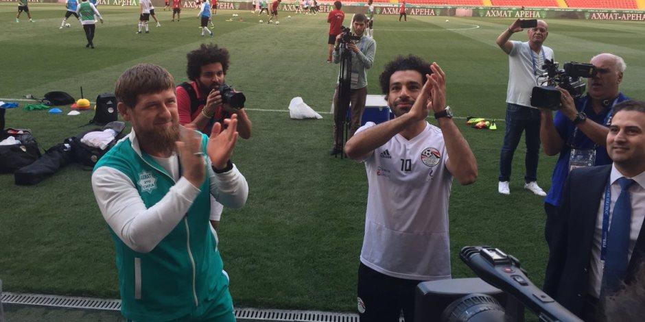 جروزني «عاصمة الشيشان الجميلة».. المنتخب المصري في مدينة السعادة (صور)