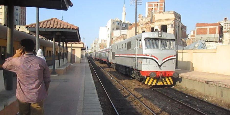 """""""السكة الحديد"""" تعلن التأخيرات المتوقعة فى حركة قطارات اليوم.. تعرف عليها"""