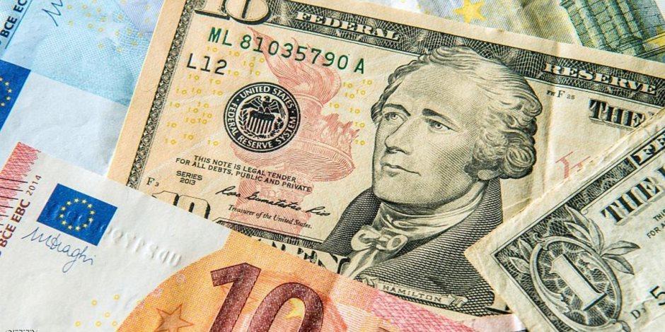 استقرار أسعار الدولار واليورو أمام الجنيه المصري في تعاملات اليوم الخميس 2-7-2020