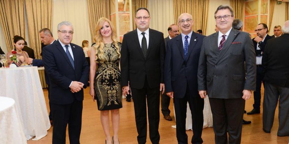 سفارة مصر بألبانيا تحتفل بثورتي 23 يوليو و 30 يونيو (صور)