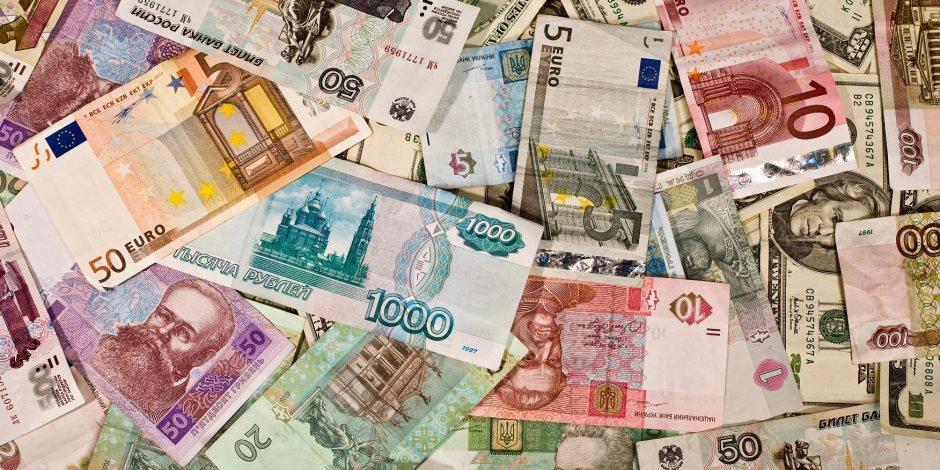 انخفاض سعر الدولار واليورو أمام الجنيه في تعاملات اليوم الثلاثاء 18-2-2020
