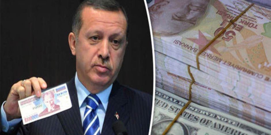 «أردوغان اللص».. الديكتاتور يسطو على 40 مليار ليرة من احتياطي تركيا النقدي