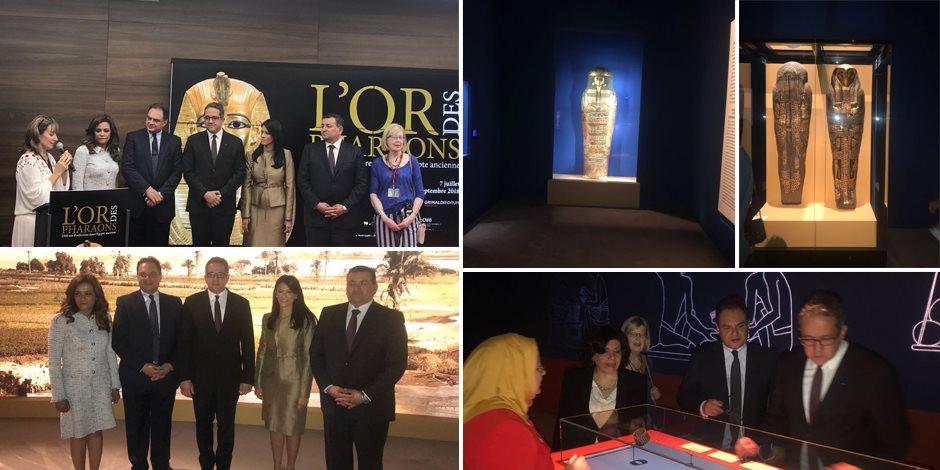 معرض موناكو للآثار الفرعونية الذهبية يمد «شريان الحياة» إلى متحف التحرير