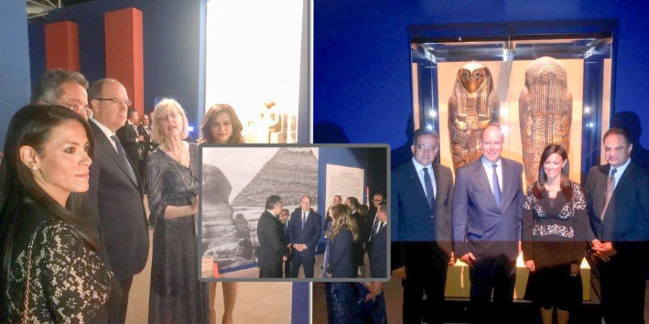 القوى الناعمة تهزم الإرهاب.. كل ما تريد معرفته عن معرض الآثار المصرية بموناكو