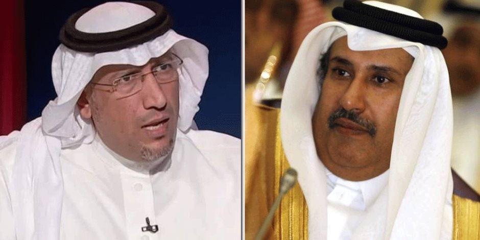 حمد بن جاسم يبث سمومه.. سياسي سعودي: الشيطان في هيئته لازال يحكم قطر في الخفاء