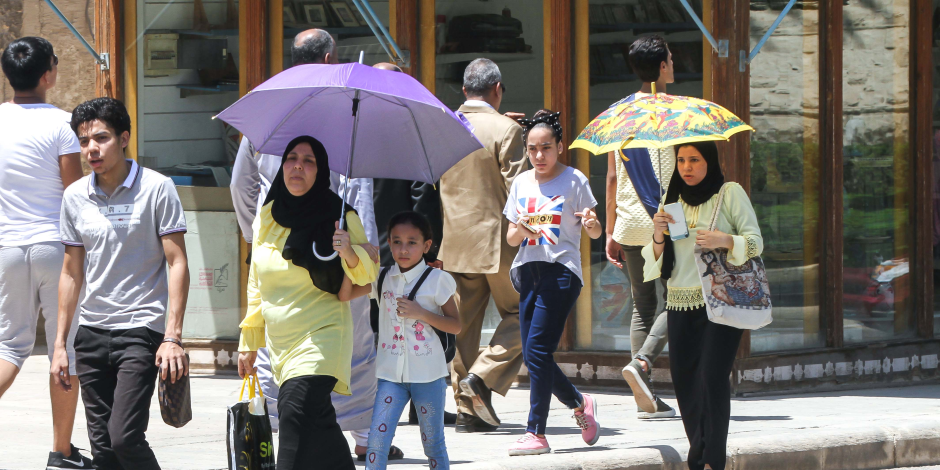 الأرصاد: طقس اليوم حار على الوجه البحرى ..والعظمى بالقاهرة 36 درجة