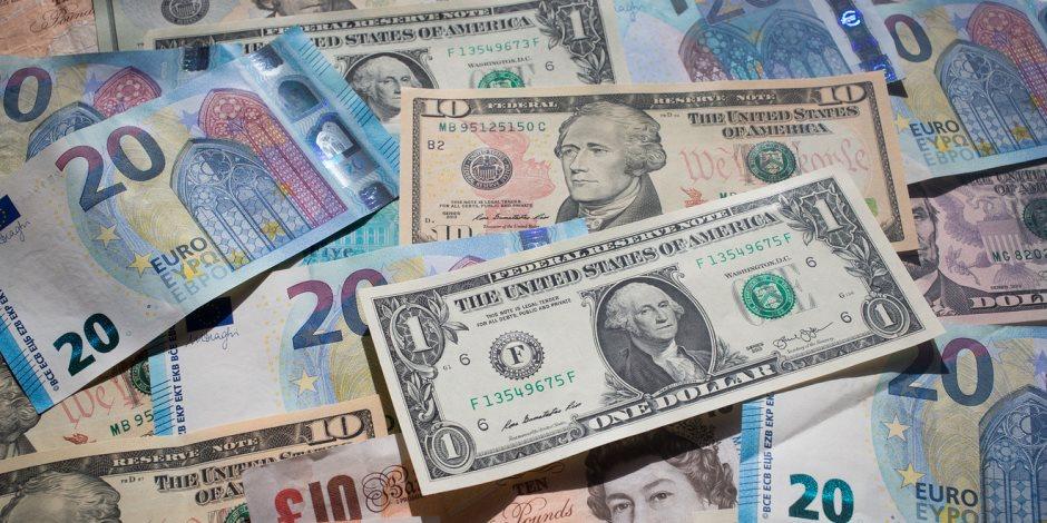 استقرار سعر الدولار وارتفاع اليورو في تعاملات اليوم الأربعاء 13-5-2020