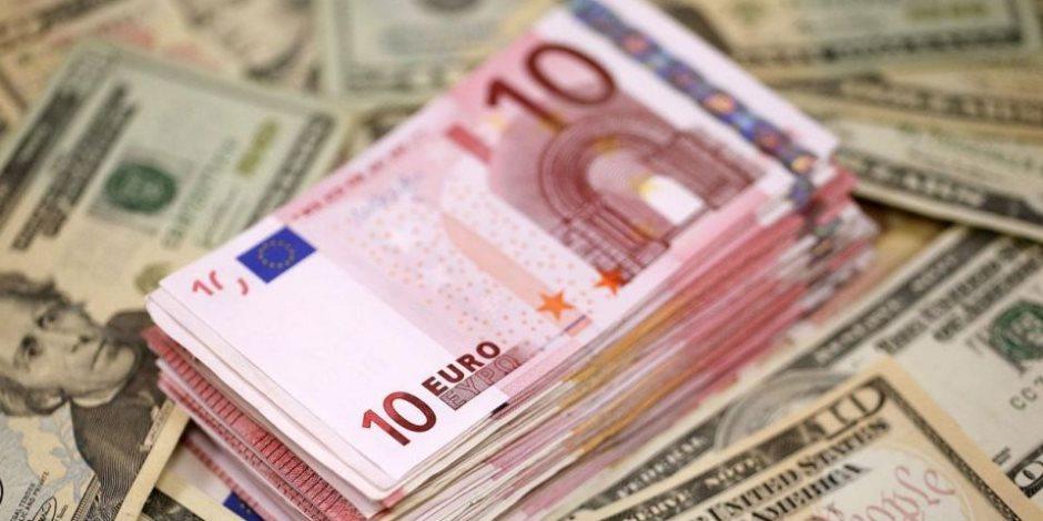 سعر اليورو اليوم الجمعة 4-9-2020..يسجل 18.60 جنيه للشراء بالبنك الأهلى