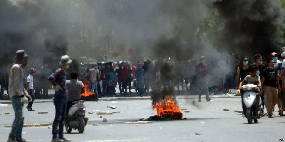 بعد انخفاض عدد التظاهرات العراقية.. كيف نجح العبادي في السيطرة على الشارع البغدادي؟