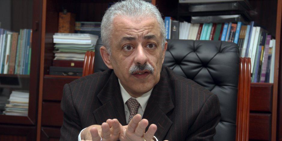 وزير التربية والتعليم عن تجمع أولياء الأمور بمحيط اللجان: لاحياة لمن تنادي