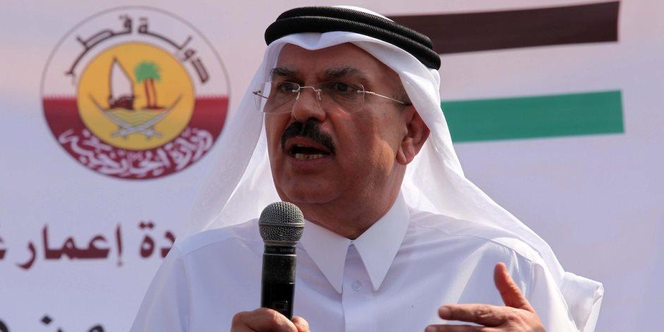 «شيال» شنط قطر يطعن القضية الفلسطينية مجددا.. العمادي يراوغ العرب لصالح إسرائيل