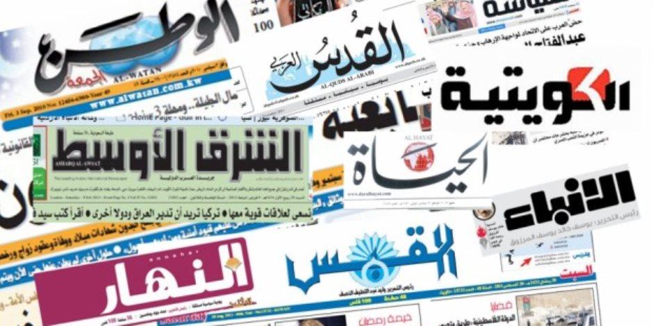 أبرز ما جاء في الصحف العربية اليوم الجمعة.. رشاوى قطرية لا تنقطع وإيران تنتحر
