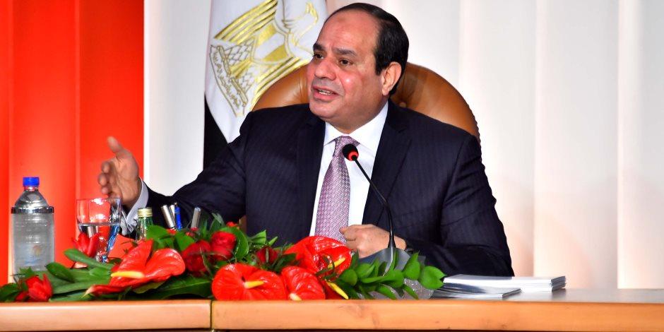 خلال افتتاح الدائري الإقليمي.. الرئيس السيسي ينفعل بسبب الطريق الدائري بالإسكندرية