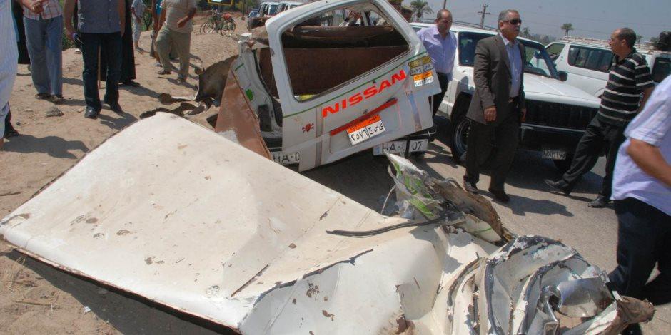 مصرع وإصابة 27 شخصا في حادث تصادم خلال حفل زفاف بالمنيا
