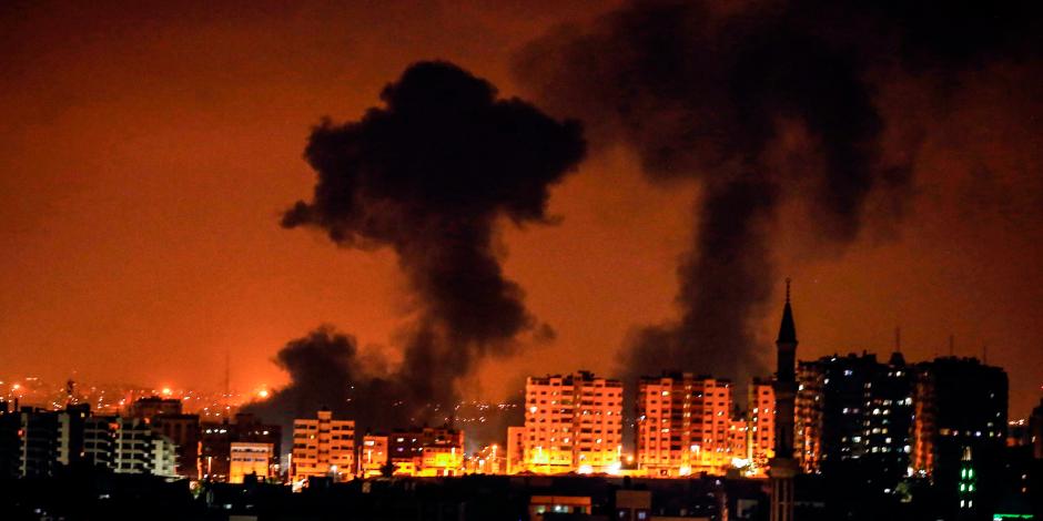 غزة تحت القصف.. مكتب إسماعيل هنية «ركام» والاحتلال يستهدف مناطق سكنية