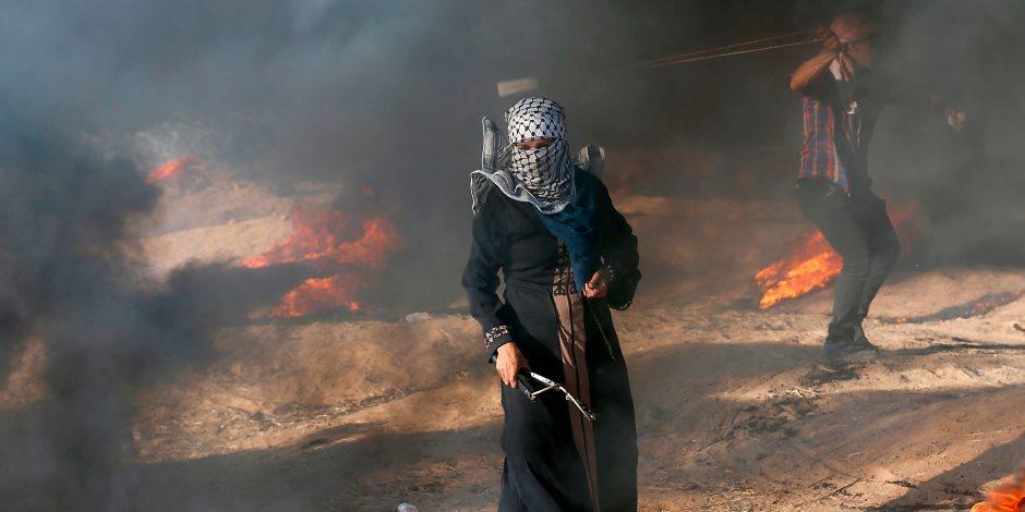 «صوت الحرية بينادي».. مسيرات العودة الفلسطينية «الإرادة فوق الاحتلال»