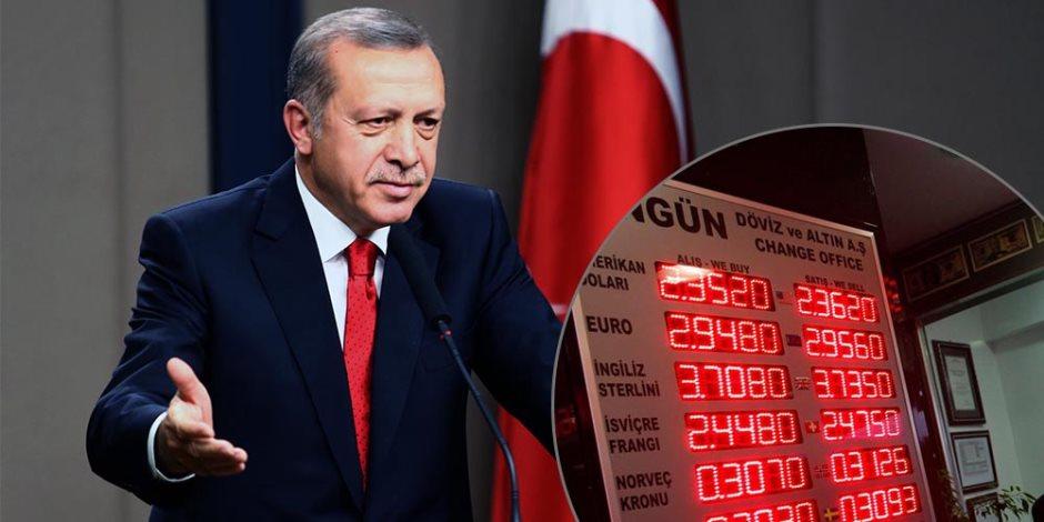 تهاوي مطامع أردوغان في سوريا والعراق.. هذا ما تستفيده المنطقة من أزمة الليرة التركية
