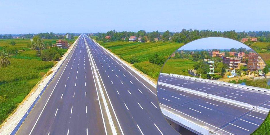 """مع بداية دخوله العمل وقرار حظر """"النقل الثقيل"""".. 15 معلومة عن """"الطريق الدائري الإقليمي"""
