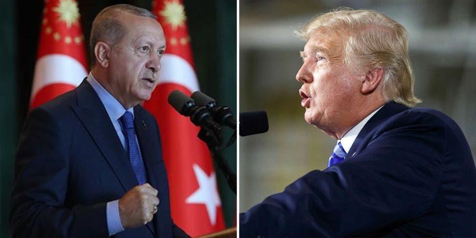 التوتر الأمريكي التركي يزداد.. إطلاق نار على سفارة واشنطن يشعل فتيل الأزمة