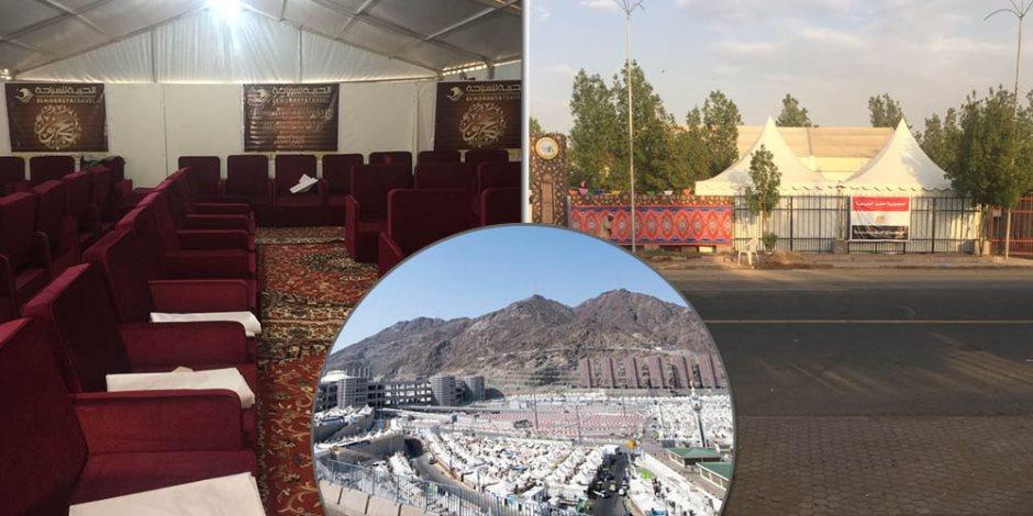 شاهد وكأنك على جبل عرفة.. جولة داخل مخيمات الحجاج بالمشاعر المقدسة (فيديو وصور)