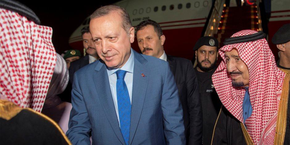 اساءات متكررة في حق القيادة السعودية.. هل فقد إعلام أردوغان صوابة؟ (صور)