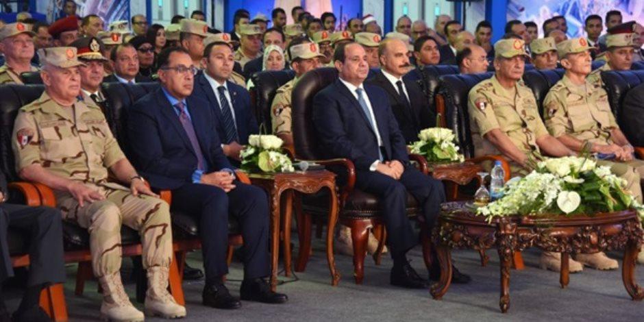 تعرف على تفاصيل إنشاء محاور الطرق التي تحدث عنها الرئيس خلال زيارته بني سويف